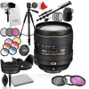 Nikon AF-S DX 16-80mm f/2.8-4E ED VR with Tripod | Monopod | Filters & More