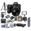 Nikon Z7 Mirrorless Digital Camera with 24-70mm Lens with Sony 64GB XQD Memory Card Supreme Bundle