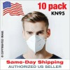 NJA KN95 Respirator Masks 5-Layer Protection (10 Pack) KN-95