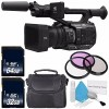 Panasonic AG-UX90 4K/HD Professional Camcorder w/ 2x 32GB Starter Bundle