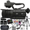 JVC GY-HM170 4KCAM Compact Professional Camcorder 15pc Accessory Bundle - Includes Manufacturer Accessories   Atomos Ninja 2 Video Recorder   3 Piece