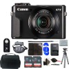 Canon PowerShot G7 X Mark II 20.1MP Black- Digital Camera with 32GB Accessory Kit Black