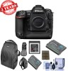 NIKON D5 DSLR Camera (Body Only, Dual XQD Slots) w/ 32GB XQD Card | Backpack | Spare Battery & More