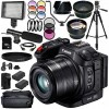 Canon XC15 4K Professional Camcorder with Sandisk 128GB Mega Essential Bundle
