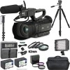 JVC GY-HM200HW House of Worship Streaming Camcorder Accessory Bundle