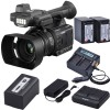 Panasonic AG-AC30 Full HD Camcorder with 2x Batteries & Dual Charger Starter Kit USA