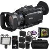 Sony PXW-Z90V 4K HDR XDCAM with Fast Hybrid AF w/ Atomos Ninja V | SanDisk 240GB Extreme Pro Solid State Drive|4x Extra Batteries & MORE