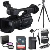 Canon XF205E HD Camcorder (PAL) W/ 2X Spare Batteries and More