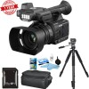 Panasonic AG-AC30 Full HD Camcorder + 64GB + Tripod + Cleaning Kit + Soft Case