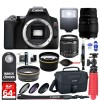 Canon EOS Rebel SL3 DSLR Camera with 18-55mm Lens & 70-300mm Lens| Accessory Kit