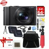 Panasonic Lumix LX10 20.1MP Leica DC Optical Zoom Digital Camera + 64GB Accessory Bundle