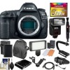 Canon EOS 5D Mark IV 4K Wi-Fi Digital SLR Camera Body with 128GB CF Card BUNDLE