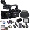 Canon XA45 Professional UHD 4K Camcorder with Additional Accessories USA