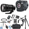 Sony PXW-FS7M2 4K XDCAM Super 35 Camcorder Kit with E PZ 28-135mm F4 G OSS Lens w/ 64GB Starter Supreme Bundle