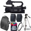 Canon XA25 Compact Full HD Camcorder with SDI, HDMI, and Composite Output with 32GB Starter Kit USA