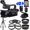 Canon XA20 Professional HD Camcorder - Essential Accessory Bundle