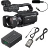 Sony HXR-MC88 Full HD Camcorder with Sony Microphone ECM-XM1