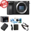 Sony Alpha a6500 4K Wi-Fi Digital Camera Body Only w/ Cleaning Kit