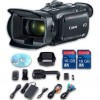 Canon XA30 HD Professional Camcorder + Wideangle Lens + Telephoto Lens + Lens Hood + 2 PC 32 GB Memory Cards + Tripod + LED Light + Backpack Case