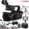 Canon XA45 Professional UHD 4K Camcorder with Spare Battery Deluxe Bundle
