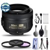Nikon AF-S DX Nikkor 35mm f/1.8G Lens with Deluxe Cleaning Kit & warranty