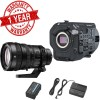 Sony PXW-FS7M2 4K XDCAM Super 35 Camcorder Kit with 18-110mm Zoom Lens USA