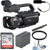 Sony HXR-MC88 Full HD Camcorder with Starter Bundle
