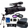 Sony NEX-VG30EH PAL Camcorder with 18-200mm Power Zoom Lens + Accessory Bundle