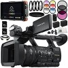 Sony HXR-NX5R NXCAM Professional Camcorder +Includes Atomos Ninja Flame + Includes 2x 64GB SD Memory Cards + 2 Replacement Batteries + MORE