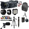 Canon XA30 HD Professional Video Camcorder + 25 Piece Accessory Bundle Kit