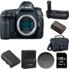 Canon EOS 5D Mark IV 30.4MP Full Frame CMOS DSLR Camera (Body) 128GB Memory Card Bundle