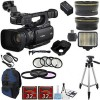 Canon XF100 Professional Camcorder with Additional Accessories Bundle