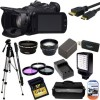 Canon XA20 Professional HD Camcorder with Advanced Package