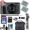 Canon PowerShot SX720 HS Digital Camera w/ 32GB|Extra Battery & More Bundle