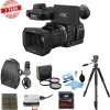 Panasonic HC-X1000 4K DCI/Ultra HD/Full HD Camcorder w/ 64GB Memory Card Deluxe Bundle