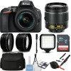 Nikon D5600 DSLR Camera with 18-55mm Lens w/ 64GB MC + Additional Accessories Bundle