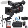 Panasonic AG-CX350 4K Camcorder NTSC/PAL with Sandisk 32GB Memory Card Essential Bundle