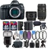 Canon EOS 5D Mark IV DSLR Full Frame Camera + 50mm 1.8 STM + 70-300mm - 64GB Kit