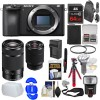 Sony Alpha a6500 4K Wi-Fi Digital Camera Body with 28-70mm f/4 & 55-210mm Lenses