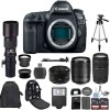 Canon EOS 5D Mark IV DSLR Camera with Canon 18-135mm USM