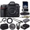 Nikon D850 DSLR Camera W/ 128GB SDXC MC+External Flash+HDMI Cable+Universal Wireless Remote Shutter Release+Hand Camera Grip