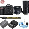 Nikon D850 DSLR Camera w/ Tamron SP 70-200mm f/2.8 Di VC USD G2 Lens for Nikon F & Tamron SP 24-70mm f/2.8 Di VC USD G2 Lens for Nikon F Bundle