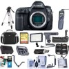 Canon EOS 5D Mark IV DSLR Body With Pro Accessory Deluxe Bundle