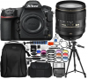 Nikon D850 DSLR Camera with AF-S 24-120mm Lens - Pro Bundle