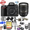 Nikon D750 DSLR 24.3MP Digital Camera w/ AF-S NIKKOR 24-120mm f/4G ED VR Lens w/ 64GB SDXC Memory Card Plus Triple Battery Accessories Bundle