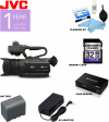 JVC GY-HM170UA 4KCAM Compact Professional Camcorder with Top Handle Audio Unit USA