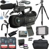 JVC GY-HM200HW House of Worship Streaming Camcorder w/ 128GB Memory Card Deluxe Bundle