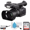 Panasonic AG-AC30 Full HD Camcorder w/ Touch Panel LCD Viewscreen AG-AC30PJ + 64GB SDXC Class 10 + Deluxe Cleaning Kit Bundle