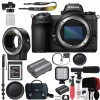 Nikon Z7 Mirrorless Digital Camera (Body Only) USA FTZ Mount Adapter for F-Mount Lenses and 120GB Memory Card Deluxe Bundle