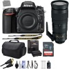 Nikon D750 24.3MP 1080P FX DSLR Camera with AF-S NIKKOR 200-500mm f/5.6E ED Deluxe Bundle